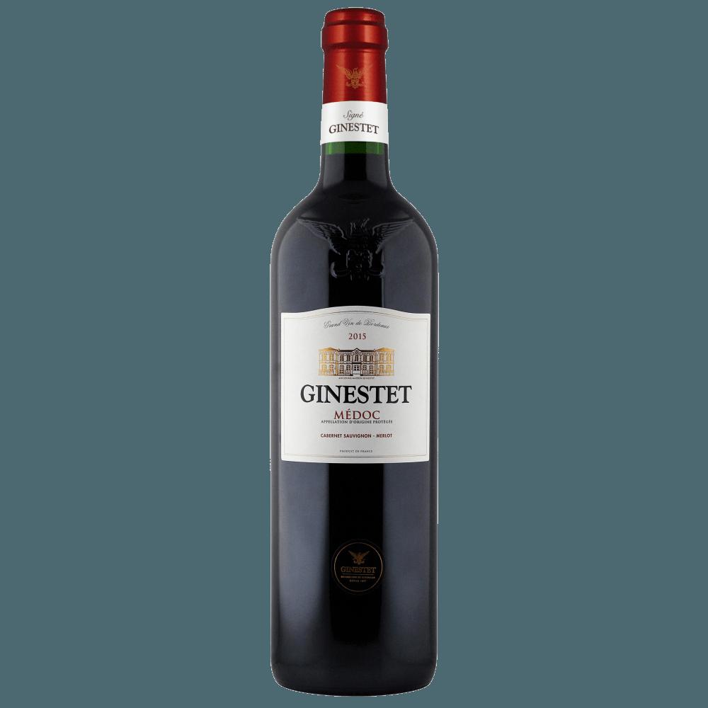 Вино Ginestet Medoc, 0.75 л., 2015 г. (s)