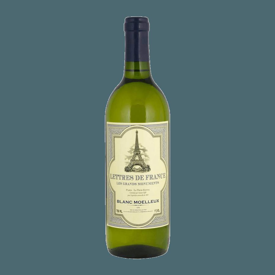 Вино Lettres De France Blanc Moelleux (белое, полусладкое) 0,75 л