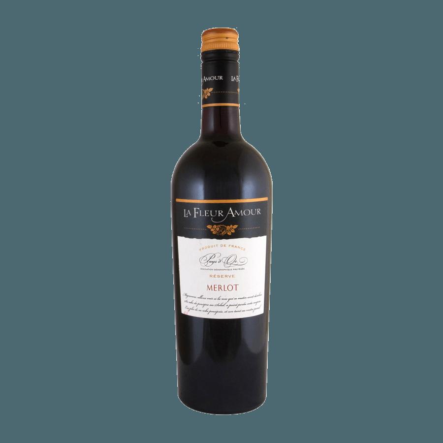 Вино La Fleur Amour Merlot IGP (красное, сухое) 0,75л