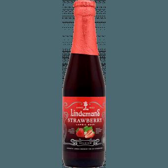 """Пиво """"Lindemans"""" Strawberry (Линдеманс клубника), 0.25л (3.5%)"""