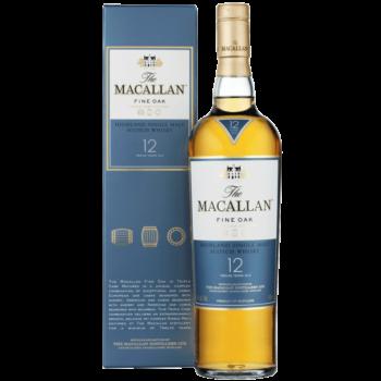Виски Macallan Fine Oak 12 Years Old, 0.7 л.
