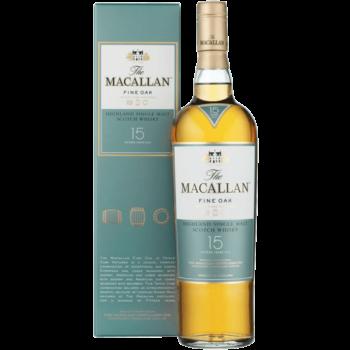 Виски Macallan Fine Oak 15 Years Old, 0.7 л.