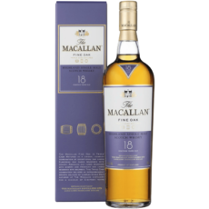 Виски Macallan Fine Oak 18 years Gift box Macallan, 0.7 л.