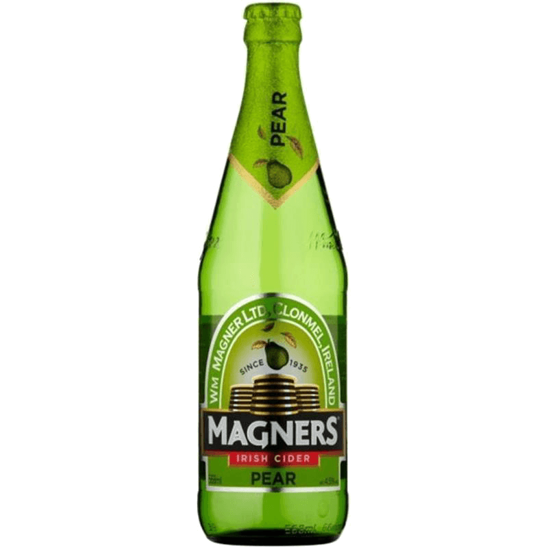 MAGNERS Сидр грушевый полусладкий 0,568л (4,5%)