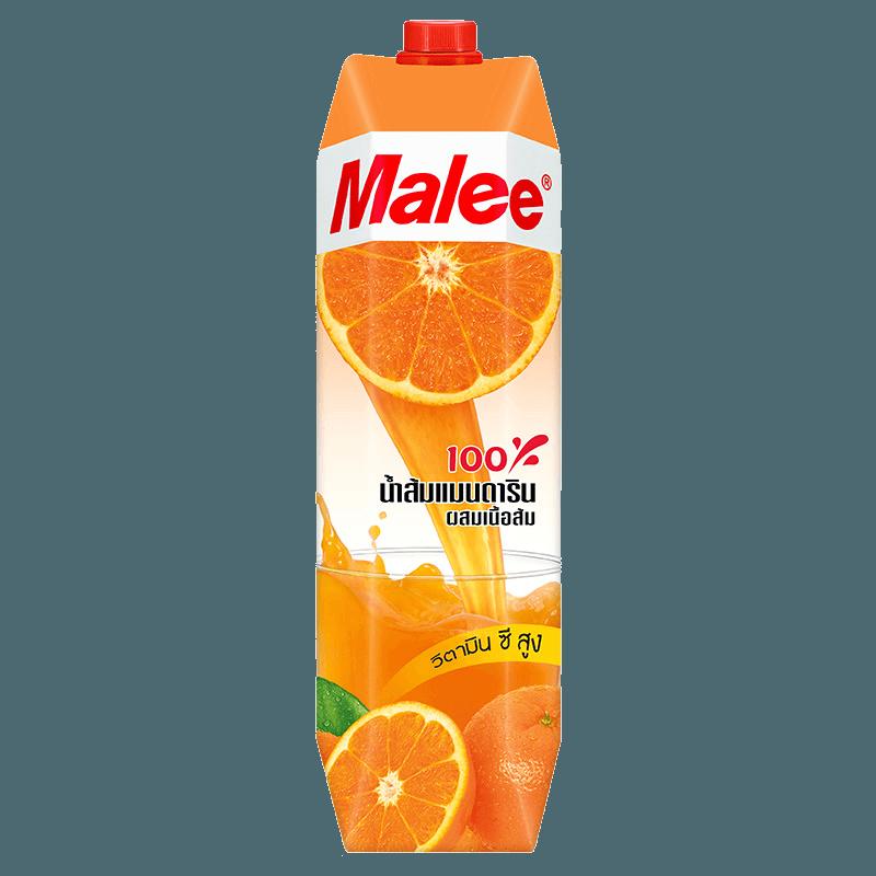 Malee Сок мандарин с мякотью, 1000 мл.