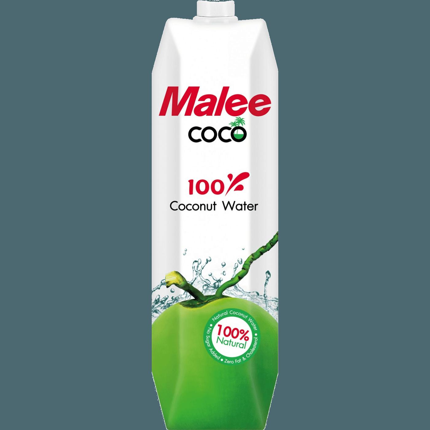 Malee кокосовая вода 100%