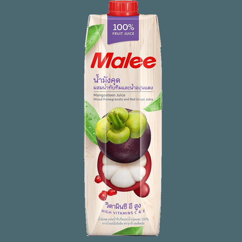 Malee Сок мангустин, гранат и красный виноград, 1000 мл.