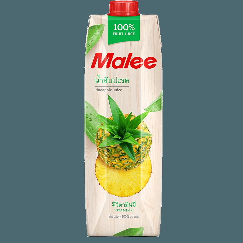 Malee Сок ананас 100%, 1000 мл.