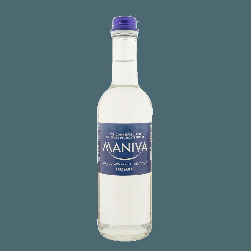 Минеральная вода Maniva Sparkling water (газированная), 0.375 л.
