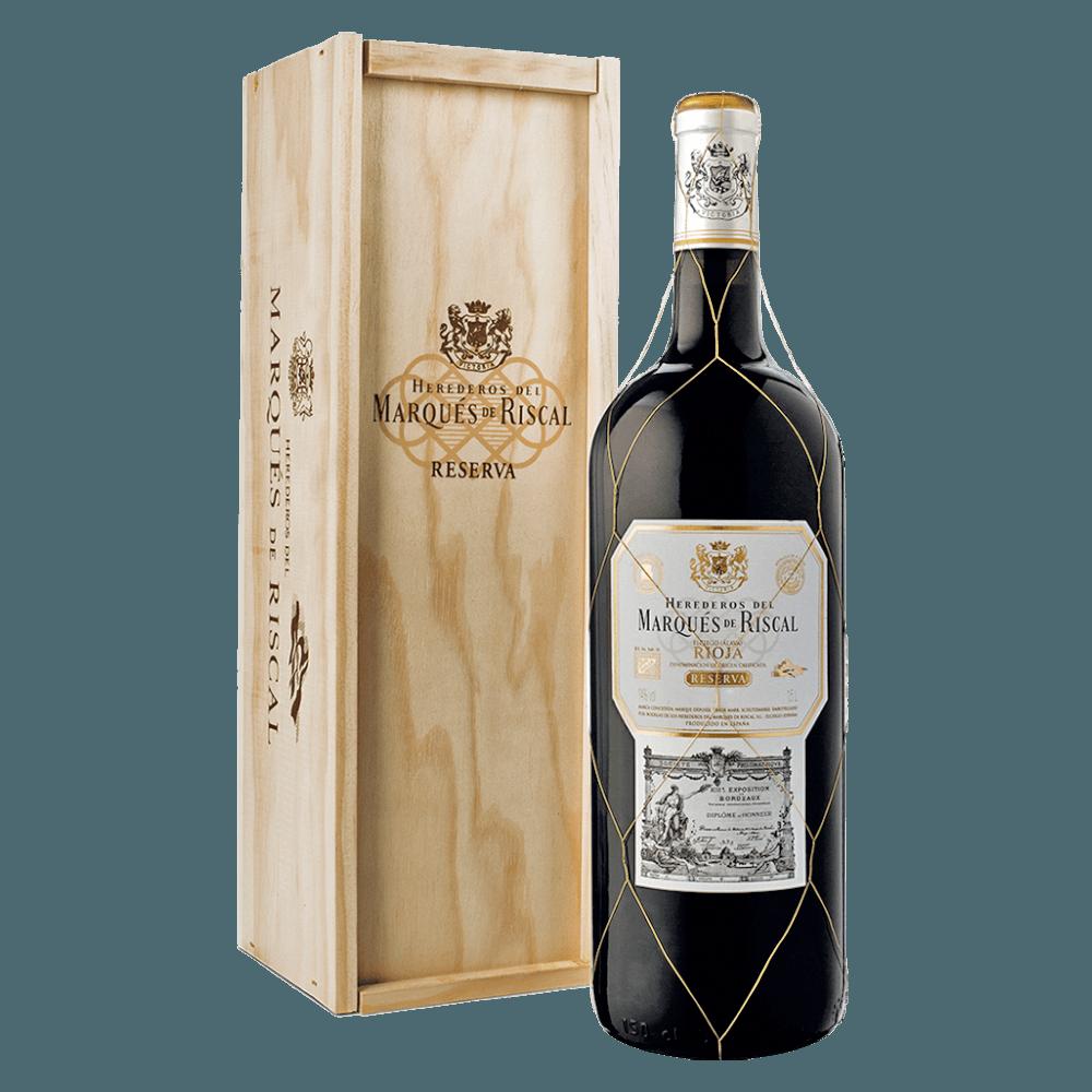 Вино Marques de Riscal Reserva, 1.5 л., 2014 г. (s)