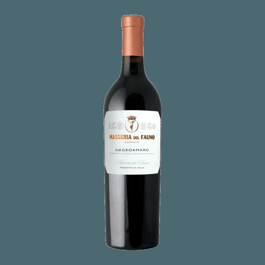 Вино Masseria del Fauno Negroamaro Puglia (красное, сухое) 0,75л