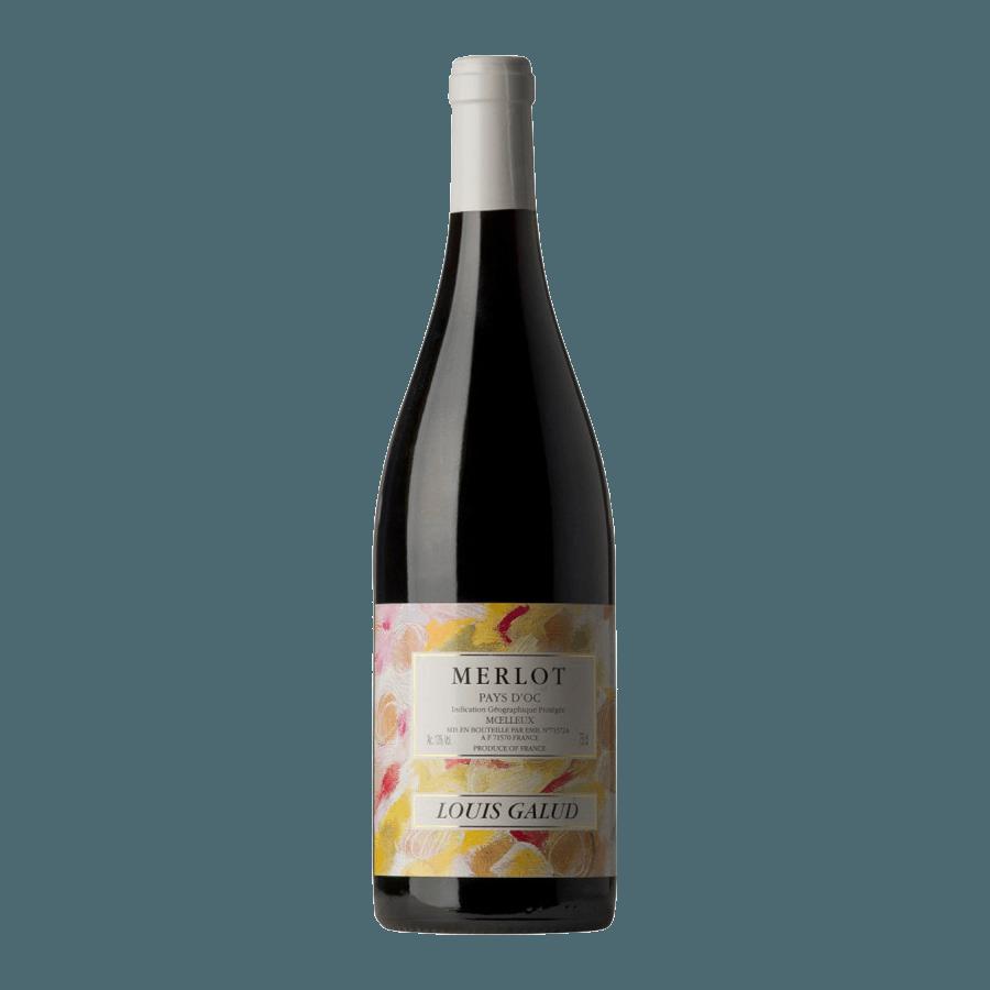 Вино Louis Galud Merlot (красное, полусладкое) 0,75л