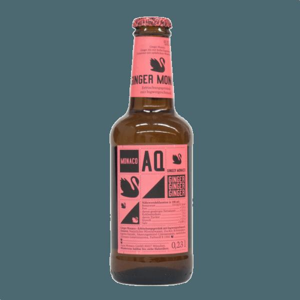 Газированный напиток «Ginger Monaco» с имбирным вкусом, 230 мл