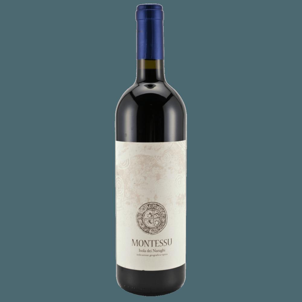 Вино Montessu (красное, сухое), 0.75 л., 2015 г (S)