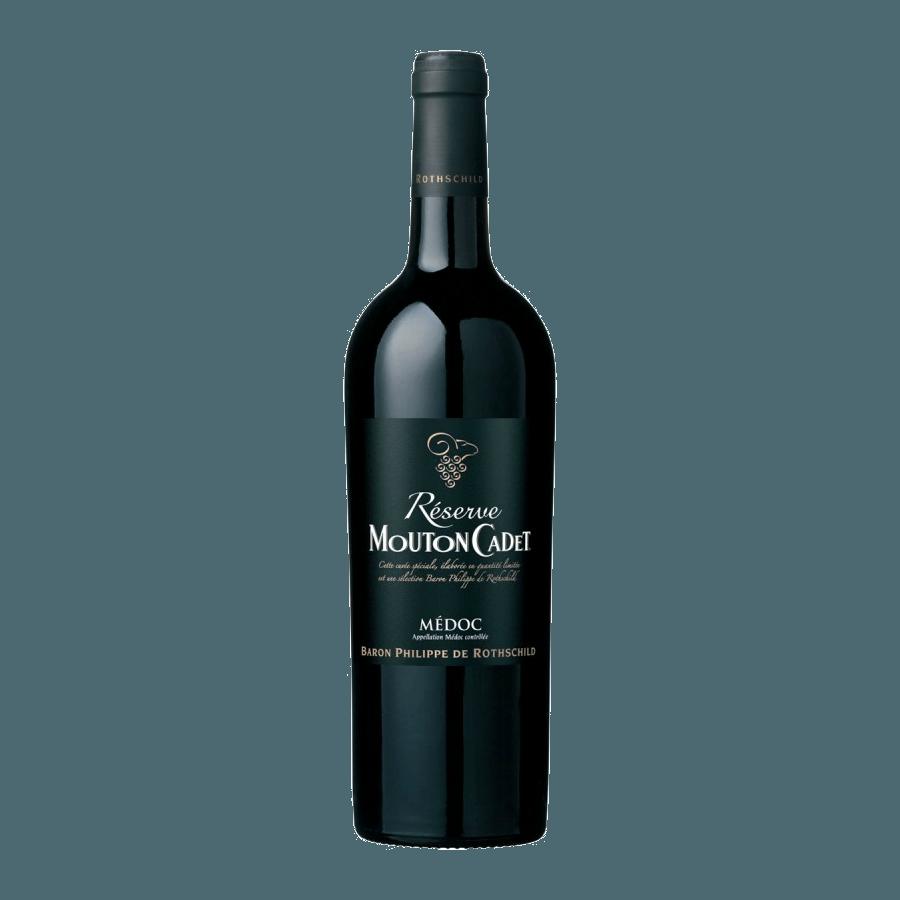 Вино Réserve Mouton Cadet Médoc AOC 0,75 л (ew)