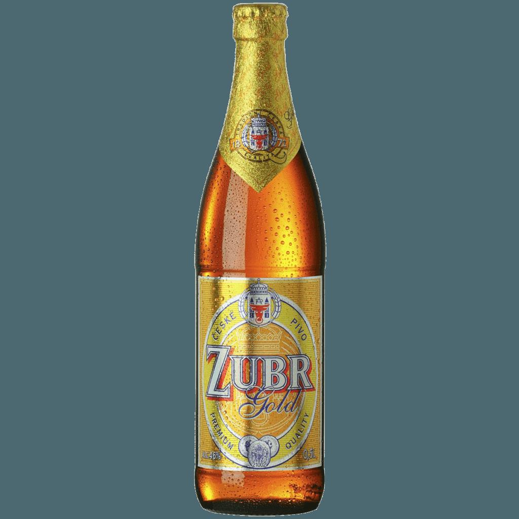 """Пиво """"Zubr"""" Gold пиво, 0.5 л. (4.6%)"""