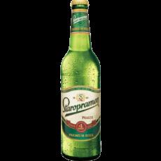"""Пиво """"Старопрамен"""" Премиум, 0.5 л. (5.0%)"""