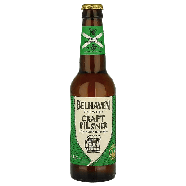 """Пиво """"Белхевен"""" Крафт Пилс, 0.33 л."""