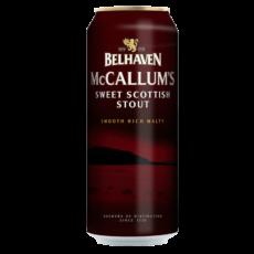 """Пиво """"Белхевен"""" МакКаллумс Стаут, 0.44 л. (4.1%)"""