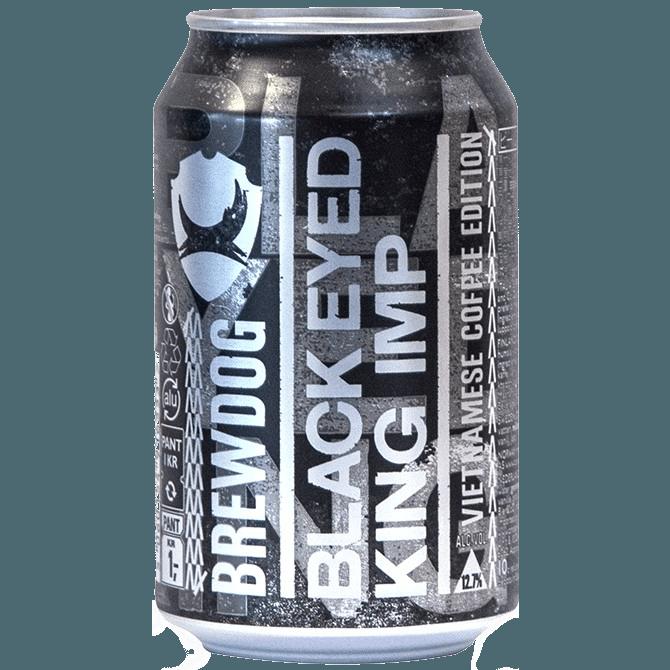 "Крафтовое пиво ""BrewDog"" Black Eyed King Imp, 0.33 л."