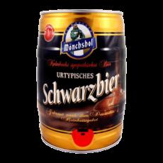 "Пиво ""Monchshof Schwarzbier"", 5.0 л. (4.9%)"