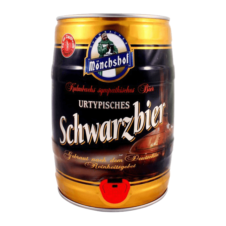 """Пиво """"Monchshof Schwarzbier"""", алк 4.9%"""