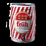 """Пиво """"Fruh Kolsch"""", алк 4.8%, 5 литров"""
