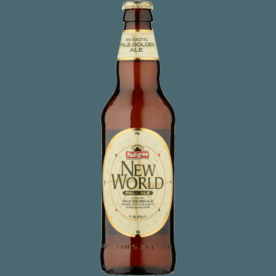 """Пиво """"Marston's"""" New World Pale Ale, 0.5 л. (4.1%)"""