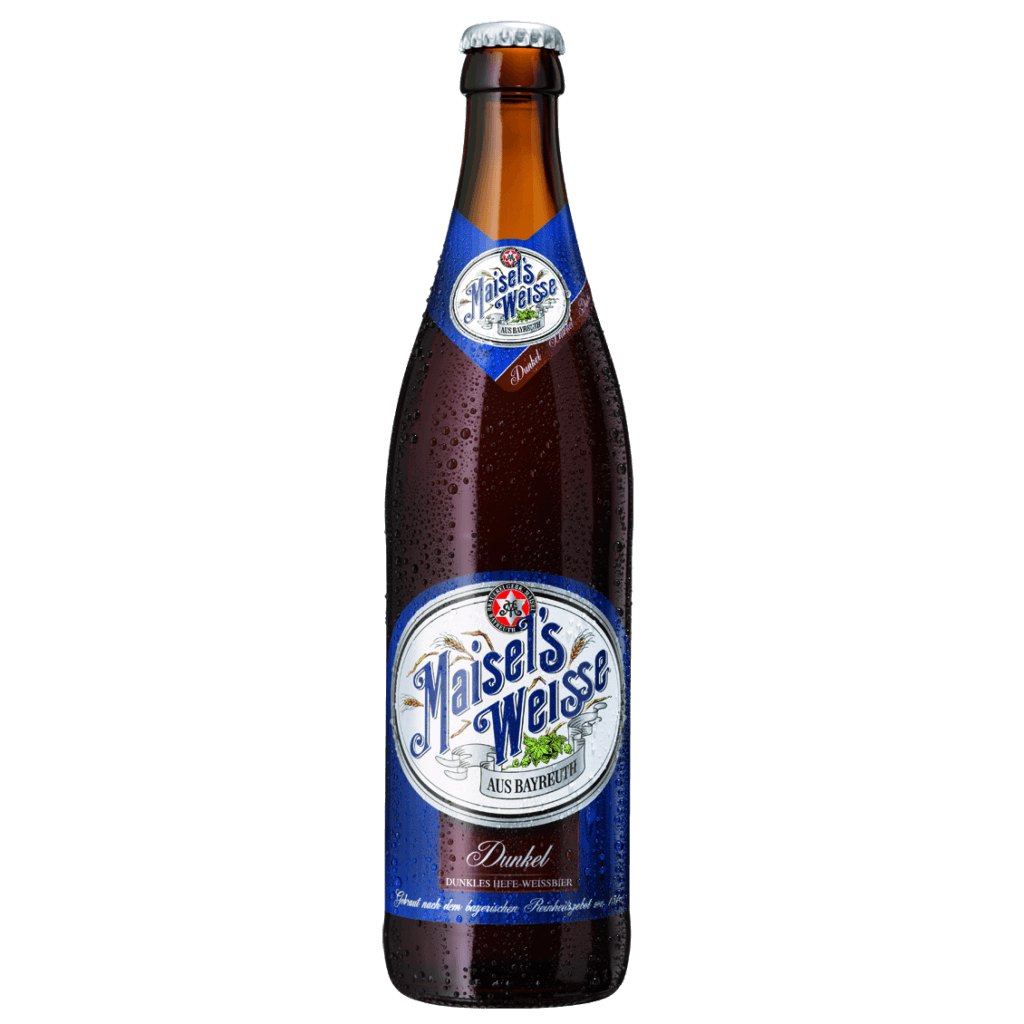 """Пиво """"Maisels Weisse"""" Dunkel, пшеничное темное, 0.5 л. (5.4%)"""