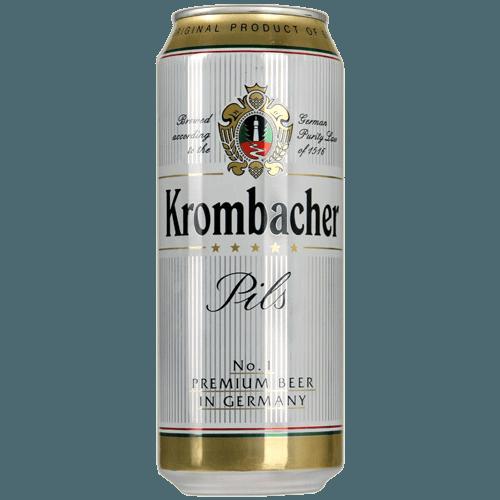 "Пиво ""Krombacher"" Кромбахер Пилс, 0.5 л. (4,8%)"