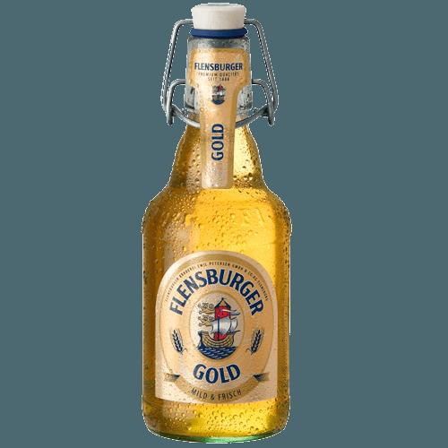"Пиво ""Фленсбургер"" Голд, 0.33 л."