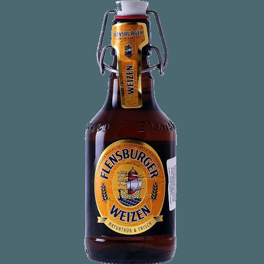 """Пиво """"Фленсбургер"""" Вайцен, 0.33 л."""