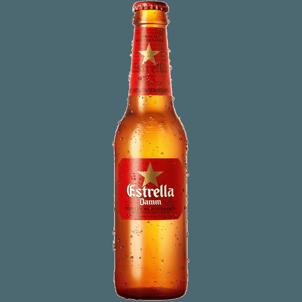 Пиво Estrella Damm, 0.33 л.