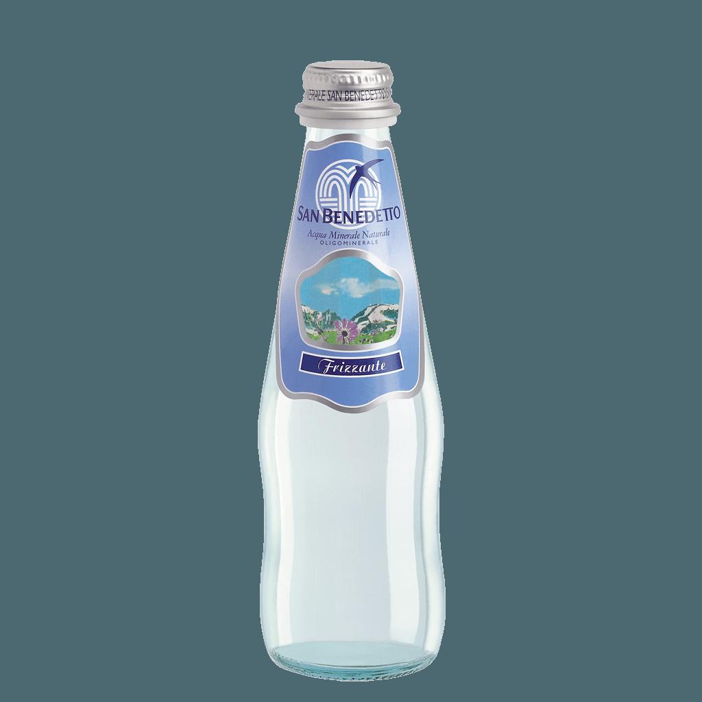 San Benedetto, минеральная газированная вода, 0.25 л.