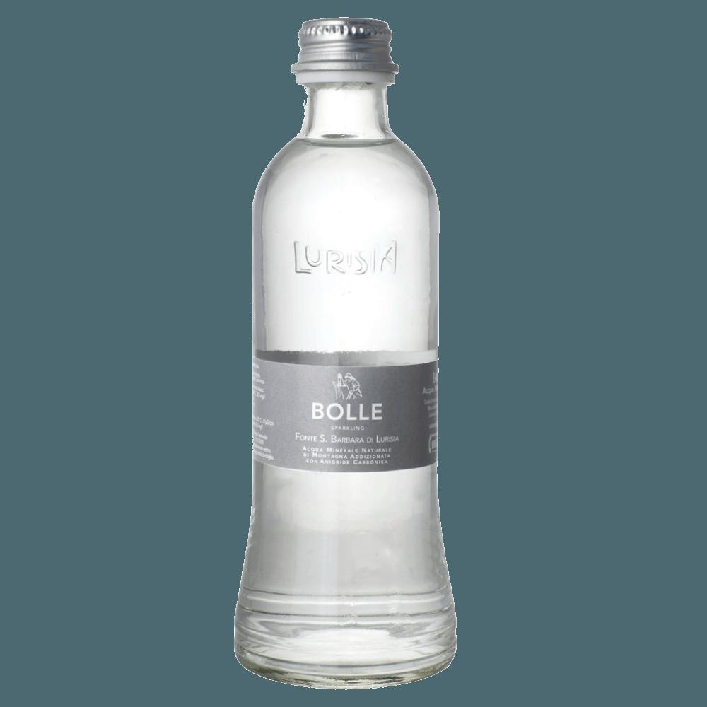 """Lurisia """"Bolle"""", вода минеральная газированная, 0.33 л."""