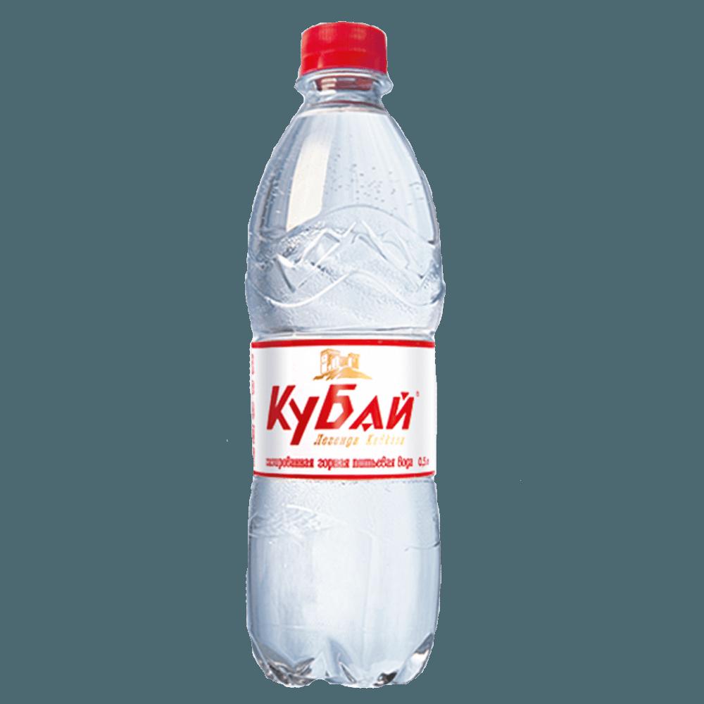 Кубай, минеральная газированная вода, 0.5 л.