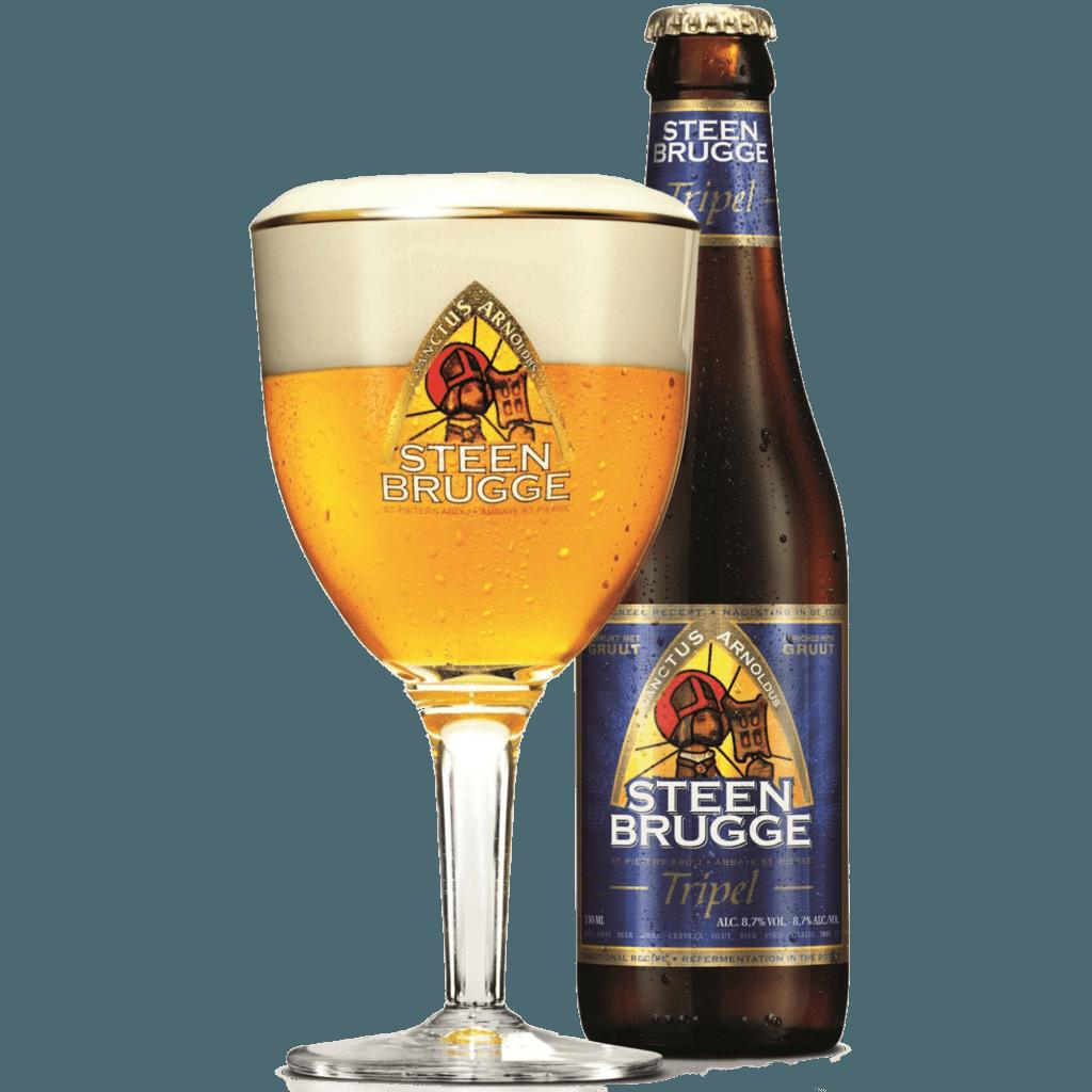 """Пиво """"Steenbrugge"""" Tripel Ale, 0.33 л. (8.7%)"""