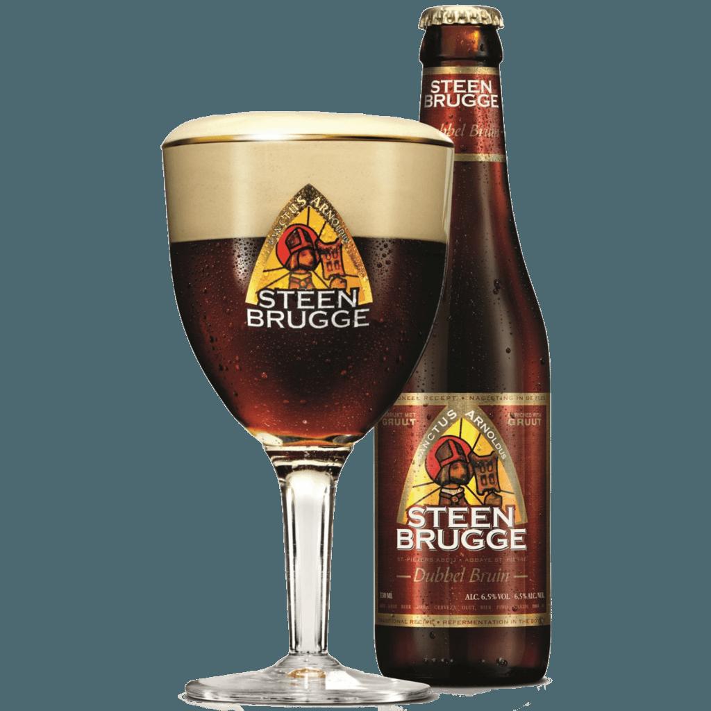 "Пиво ""Steenbrugge"" Dubbel Bruin, 0.33 л (6.5%)"