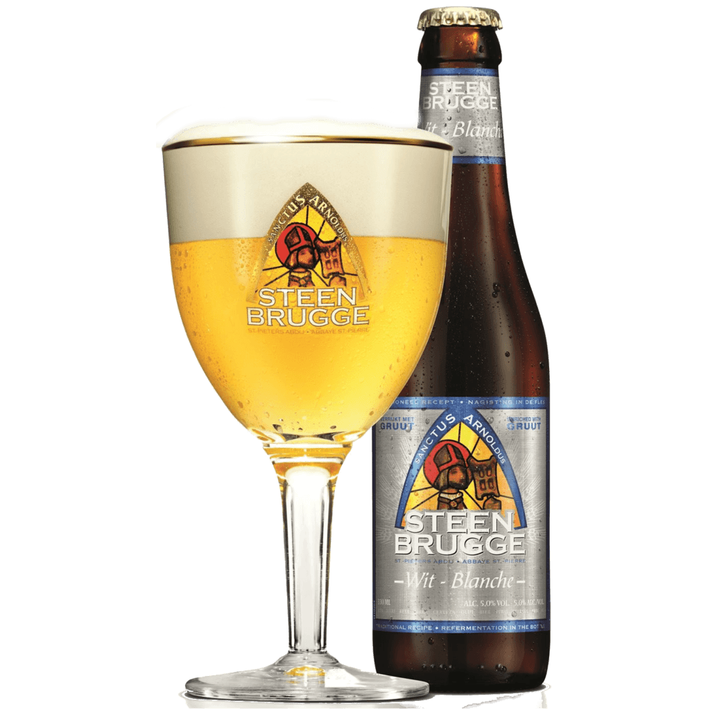 "Пиво ""Steenbrugge"" Wit-Blanche,  0.33 л. (5.0%)"