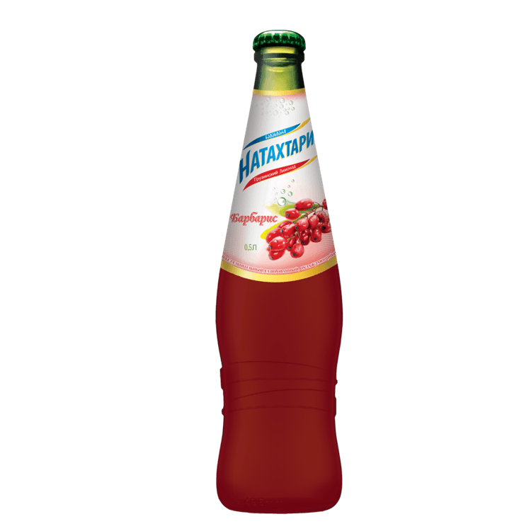 """Натахтари """"Барбарис"""", лимонад, 0.5 л."""