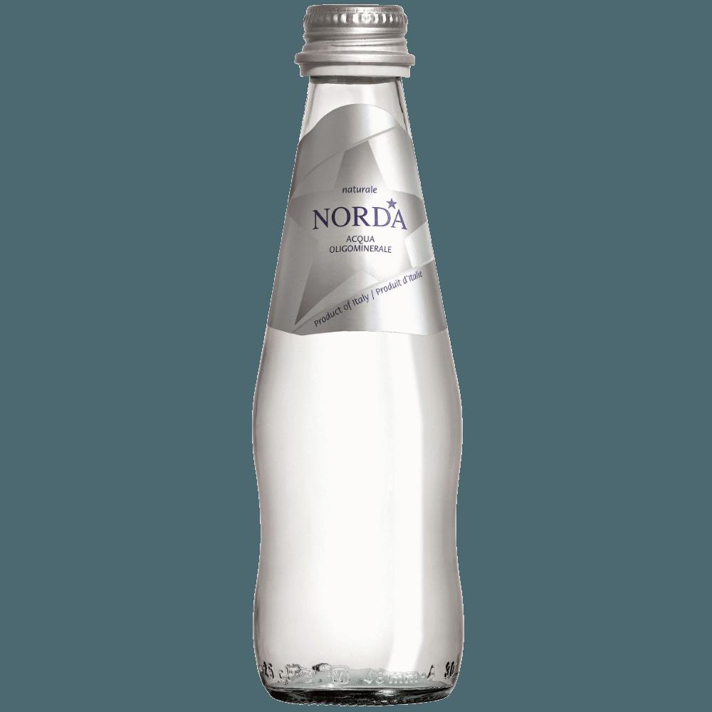 Norda Still, минеральная газированная вода, 0.25 л.