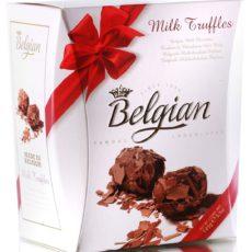 Трюфели The Belgian из молочного шоколада в хлопьях 145г