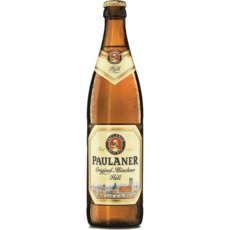 "Пиво Пауланер ""Оригинал"", 0.5л., светлое (4.9%)"
