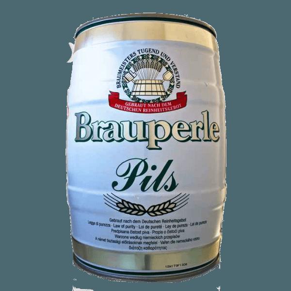 """Пиво """"Брауперл Пилс"""", 5.0 л., (4.5%)"""