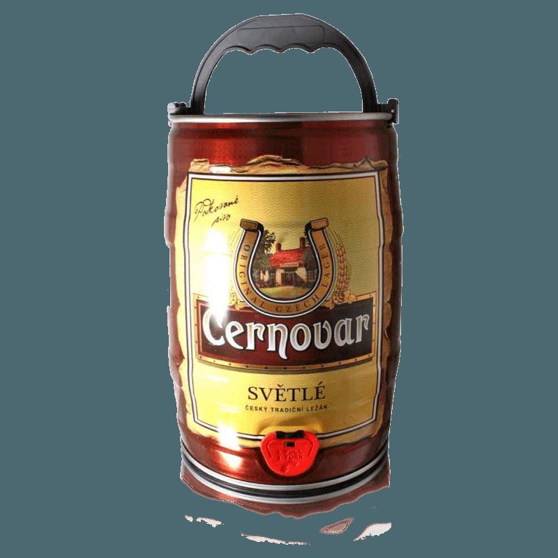"""Пиво """"Черновар"""" (светлое), алк 4.9%, 5 литров"""