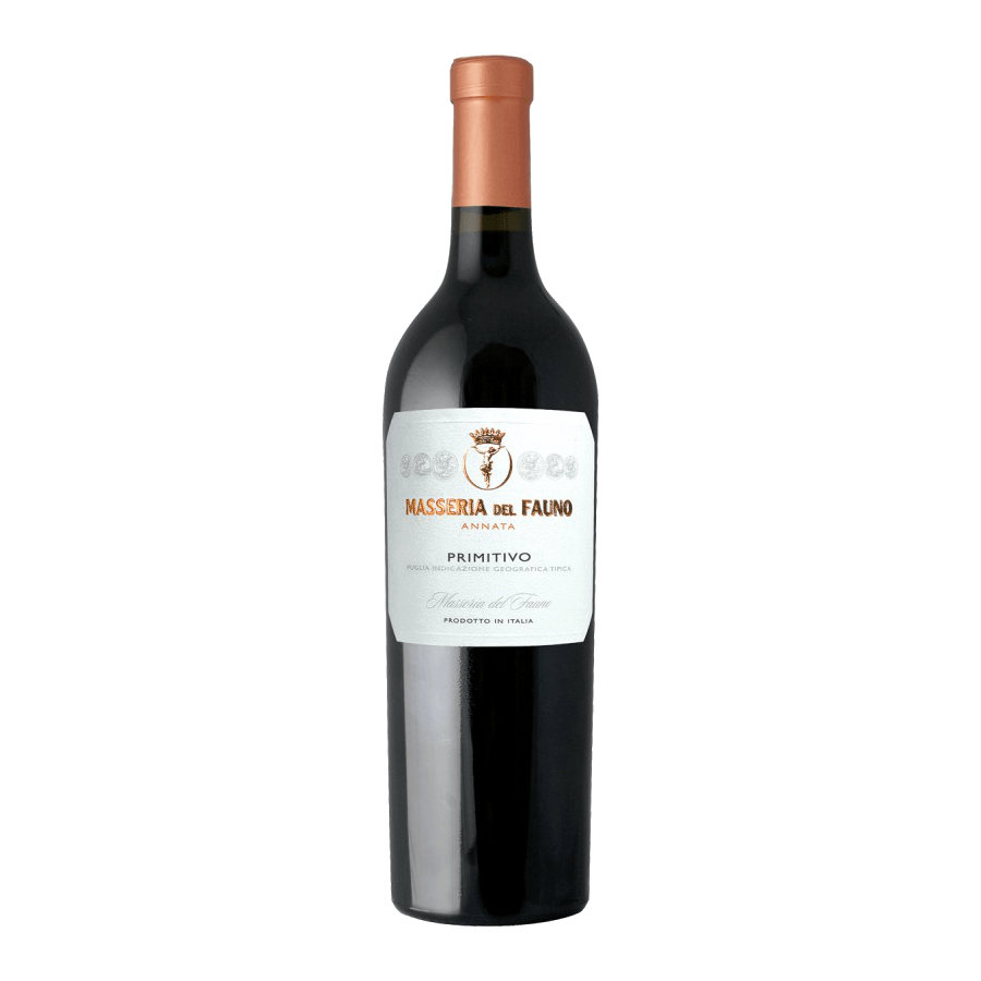 Вино Masseria del Fauno Primitivo di Puglia (красное, сухое) 0,75л
