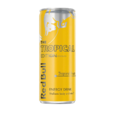 Энергетический напиток Red Bull Tropical Edition (тропические плоды) 0,25 мл