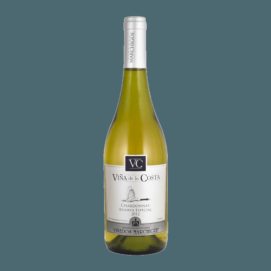 Вино Viña de la Costa Chardonnay Reserva Especial (белое, сухое) 0,75 л