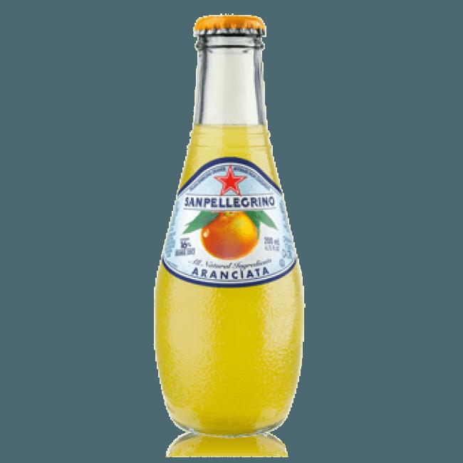 """S.Pellegrino """"Aranciata"""", сокосодержащий напиток, 0.2 л."""