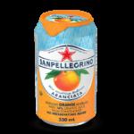 """S.Pellegrino """"Aranciata"""", сокосодержащий напиток, 0.33 л."""